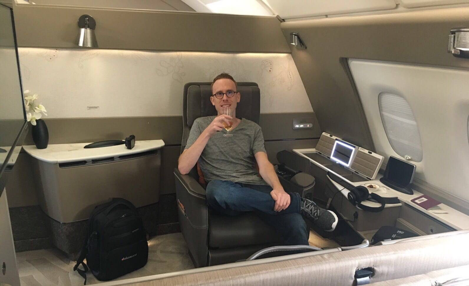 How To Fly Singapore Airlines First Class To Shanghai For