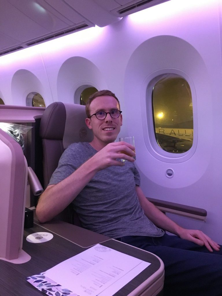 Flying Juneyao Business Class On The New Dreamliner In A